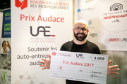 Fabien David, 32 ans, meilleur auto-entrepreneur d'Ile-de-France