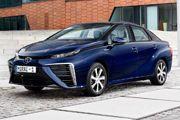 La flotte de taxis Hype compte 100 véhicules hydrogène dont 25 Toyota Mirai