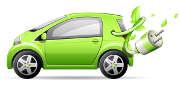 flotte-automobile-voiture-verte-electrique